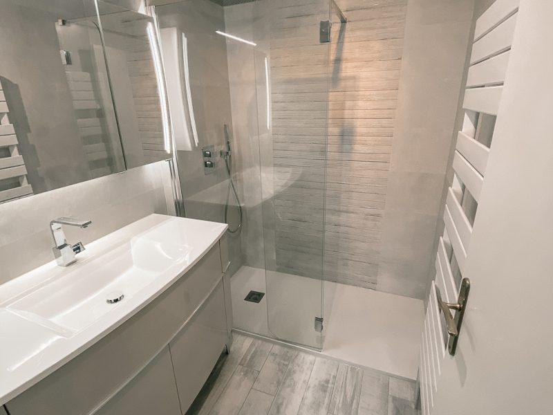 Salle d'eau 91 - Sol Bois blanchi